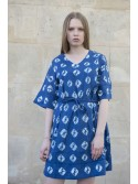 Robe Tie and Dye Navy