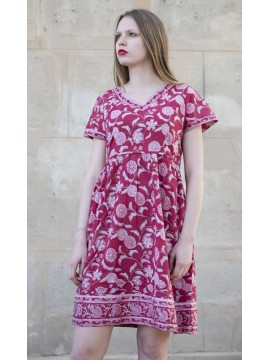 Robe Flora Rouge