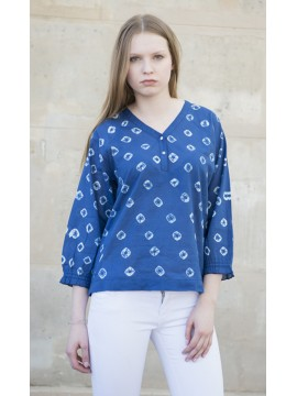 Tunique Tie and Dye Navy