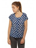 Blouse Nelly Nuage Navy